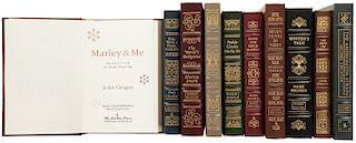 Obras Firmadas por los Autores. Crichton, Michael /Doyle, Roddy/ Wiggen, Henry W. / Kennedy, William /Harrer, Heinrich. Pzs: 10.