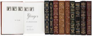 Obras sobre música. Signed First Edition. Norwalk, Connecticut: The Easton Press, 1991/ 199 / 1995/ 1996/ 1998/ 1999/ 2002. Piezas: 10.