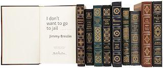 Primeras Ediciones Firmadas por Autor de Easton Press. Reason for Hope/ Bagombo Snuff Box/ I Don´t Want to Go to Jail... Piezas: 10.