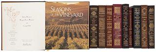Primeras Ediciones Firmadas por Autor de Easton Press. Taken on Trust/ My Heart Laid Bare/ Season of the Vinyard... Piezas: 10.