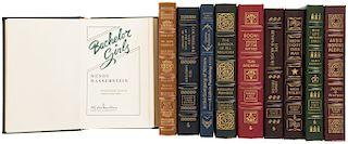 Primeras Ediciones Firmadas por Autor de Easton Press. The Grand Chessboard/ Bachelor Girls/ In the Company of Writers... Piezas: 10.