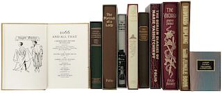 Editorial Folio Society. The Berlin Diaries/ The Island of Sakhalin/ The Second Jungle Book/ The Portrait of a Lady. Piezas: 10.