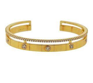 Marli 18K Gold Diamond Chelsea Bracelet