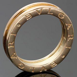 BULGARI B.Zero1 1-Band 18k Rose Gold Ring