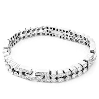 9.50ct Diamond and 14K Gold Bracelet