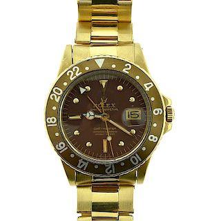 Rolex GMT Master Ref. 1675 18K