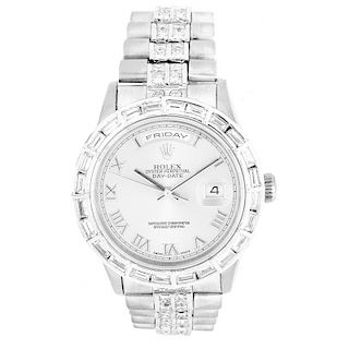 Man's Rolex 18K Gold Date-Date