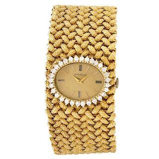 Diamond, 14K Geneve Bracelet Watch