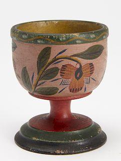 Fine Decorated Lehnware Cup