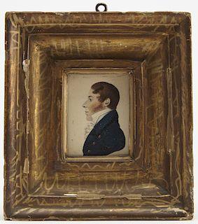 Two Miniature Portraits, Gillespie