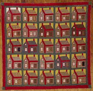 Excellent Schoolhouse Quilt