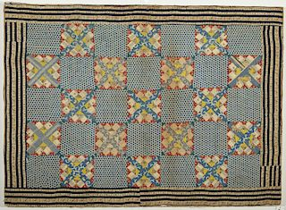 Fine Early Crib Quilt