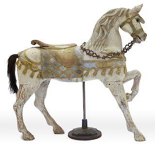 Early Charles Loof Carousel Horse