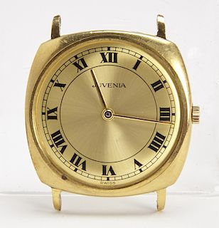 Juvenia Men's 18K Gold Watch