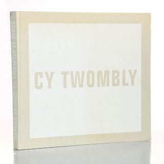 BOOK, AUDIBLE SILENCE CY TWOMBLY AT DAROS