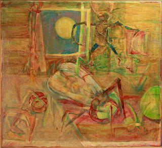 """Raphael Colon Morales """"Insecto Interior"""" Acrylic"""
