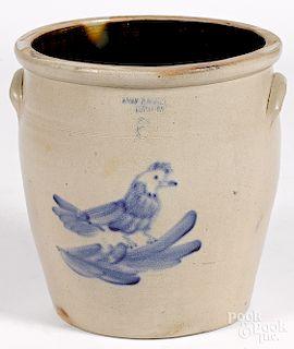 Pennsylvania six-gallon stoneware crock