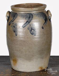 Baltimore Maryland five-gallon stoneware crock