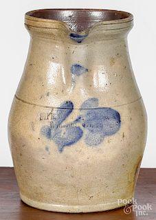 Pennsylvania stoneware pitcher