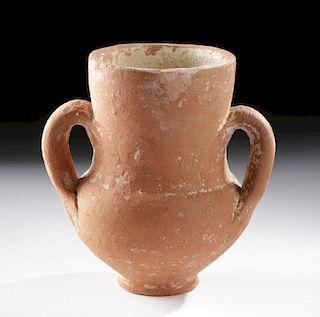 Miniature Greek Mycenaean Terracotta Amphora
