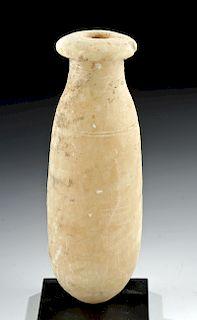 Greek Archaic Alabaster Alabastron
