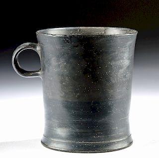 Stunning Greek Campanian Blackware Mug