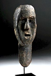 Early 20th C. Indonesian Timor Wooden Mask