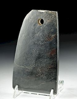 Chinese Neolithic Stone Axe Blade