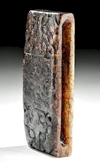 Chinese Ming Dynasty Nephrite Scabbard Slide
