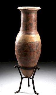 Narino Polychrome Bullet Amphora, ex-Vic Damone