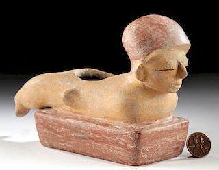 Chorrera Pottery Vessel - Figure Lying Prone