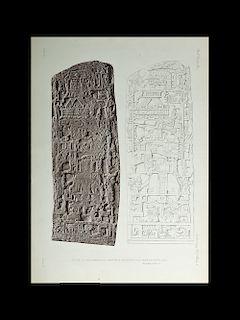 Alfred Maudslay Maya Ruins Photogravure - 1890