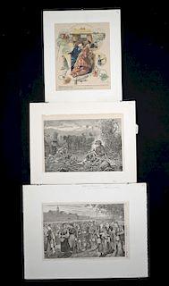 Three 19th c. Winslow Homer Engravings