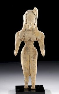 Indus Valley Mehrgarh Pottery Seated Female