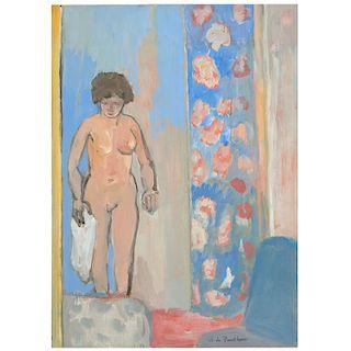 Jef de Panthou, painting