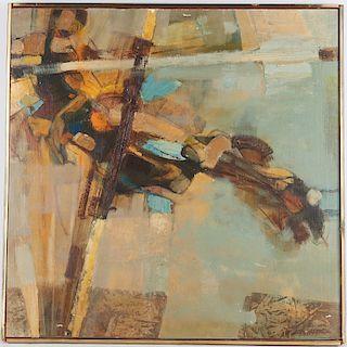 Jim Jonson (attrib.), abstract figure