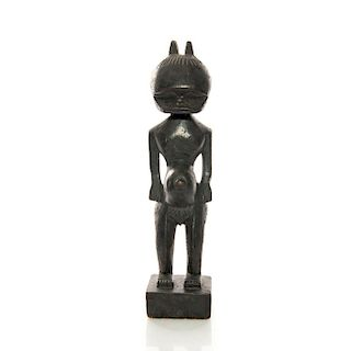 TEAK WOOD AFRICAN TRIBAL ART CARVING