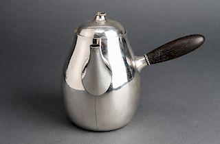 Georg Jensen Sterling Silver Coffee Pot w Lid