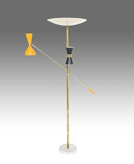 Arredoluce Manner Modern Adjustable Floor Lamp