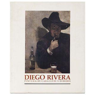 LIBRO SOBRE DIEGO RIVERA. Oliver Debroise. Pintura de Caballete y Dibujos. México: Fondo Editorial de la Plástica Mexicana, 1986.