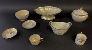 Armorial Royal Worcester Porcelain
