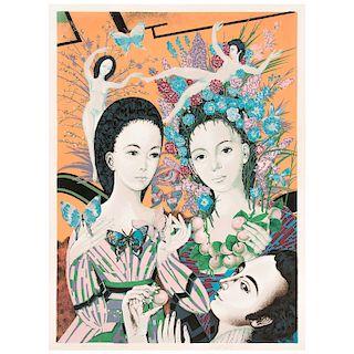 FROYLÁN OJEDA, Paraíso de natura, Firmada, Serigrafía 95 / 100, 79 x 58.5 cm