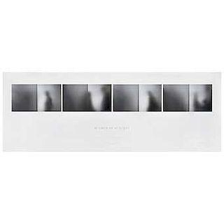 MANUEL ZAVALA, Inasible, Firmada y fechada 2017, Impresión digital en papel algodón P / A, 13 x 90 cm