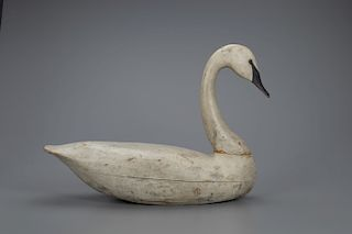 The Mackey Birch Swan Decoy, Charles Birch (1867-1956)