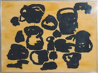 PHILIP GUSTON (1913-1980): AUGUST, FROM FOUR ON PLEXI SUITE