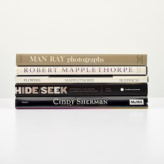 5 Reference Books: Robert Mapplethorpe, Man Ray, Cindy Sherman