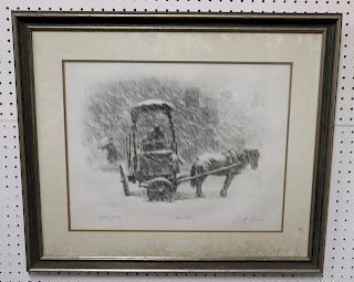 "Tully Filmus Pencil Signed Print ""Winter"""