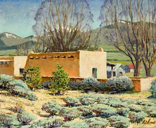 William H. Atkins | Taos Homestead
