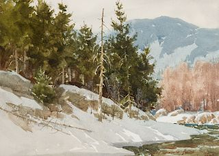 Lowell Ellsworth Smith | Cold Bend Creek