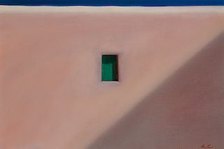 John Axton | Mykonos Window